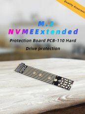 JEYI PCB110 m. 2 NVME Extended Protection Card SSD m2 Protection Plate for 2280 TO 22110 SSD DIY Power-off Protection