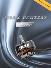 EMAX ECO 2207 1700KV 1900KV 2400KV RC Remote Control Cross-machine Multi-axis Motor 4-6V