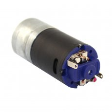 Feichao Black 370 Deceleration Motor 1:20 Ratio 6-12V RC Model Tracker Motors Tank Model Motors