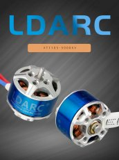 LDARC XT1105-5000KV Brushless Motor for 2-4S Batteries DIY ET115 Quadcopter