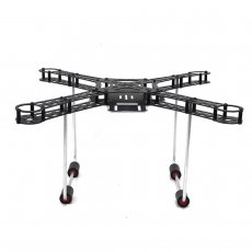 QWinOu 380mm Wheelbase 4-Axis Carbon Fiber Rack with fixed Landing Gear for DIY Drone Quadcopter Kit
