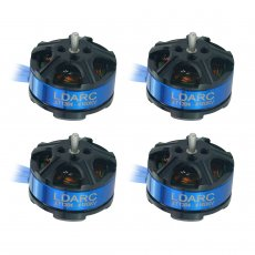 LDARC XT1304-4100KV Brushless Motor for 2-4S Batteries DIY Quadcopter RC Hobby Models FPV Racing Drone
