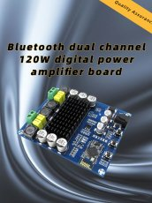 2x120W Power Bluetooth 4.0 Dual Channel Digital Amplifier Module Board TPA3116D2 XH-M548 Wireless Stereo Audio Amplifier