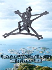 IFlight TurboBee 120RS Plus Micro FPV Racing Frame 3mm Bottom Board Rack for DIY RC Drone Tinywhoop Cinewhoop Quadcopter