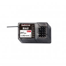 RadioLink R6F 2.4Ghz 6CH 6 Channel RC Car Receiver for RC6GS RC4GS RC3S RC4G T8FB RC Transmitter Remote Controller Boat Car Toys