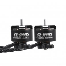 FullSpeed 1Pcs 1106 C2 4500KV 2-4S Brushless Motor for DIY FPV Racing Drone Quadcopter