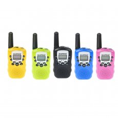 2Pcs Baofeng BF-T3 Radio Walkie Talkie UHF400-470MHz 8 Channel Two-Way Radio Transceiver Built-in Flashlight