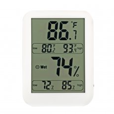 Mingchuan Indoor Large Screen Digital Hygrometer Indoor Thermometer Room Thermometer and Humidity Gauge with Temperature Humidity Monitor