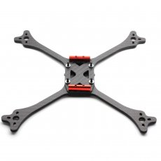 JMT X Type 215mm Full Carbon Fiber FPV Racing Drone Frame Kit 5inch for DIY Aircraft Quadcopter Model Spare Parts RC Racer Accessory