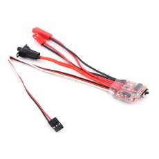 JMT ​20A / 30A Brush ESC 2KHz Forward Reverse Bidirectional Speed Controller with Brake 30*23*5mm for RC Boat Car Tank Rock Crawlers