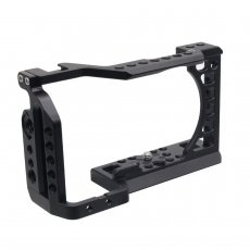 BGNING CNC Aluminum Cage Camera for SONY a6500 / a6000 / a6300 / a6400 / a6500 DLSR Case The Expansion Mounting Cover Quick-Rease Cover Plate Kit