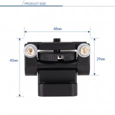 BGNING FS5 Monitor Bracket Single Reversing Universal Joint Bracket 180 Degree Fixed Frame Photography Accessories