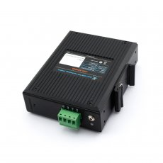 USR-SDR050-L 10 / 100M 5 Ports Lan Industrial Ethernet Wide Voltage Switch Natural Heat Dissipation IP40 Protection Shell