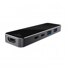 XT-XINTE HC02 Type-C 7 in 1 Smart Expansion Dock HUB USB+Card Reader Thunderbolt Adapter with USB 3.0 Ports For MacBook Pro Laptop Dock