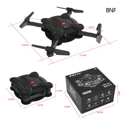 2017 FQ777 FQ17W Mini Pocket Drone Wifi FPV 0.3MP Camera Quadcopter 2.4G RC Foldable Helicopter