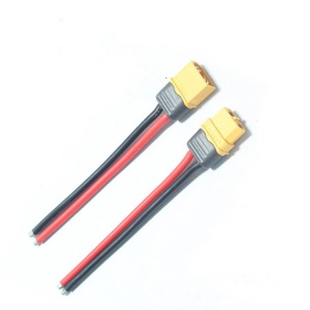 1 PCS XT60 Male Connector Female Connector With 10CM 14AWG Silicone Wire Cable