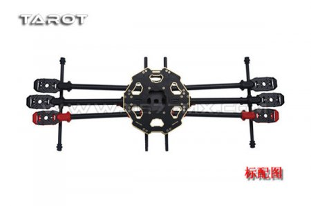 F07807 Tarot 680PRO Six-axis 6-Axis Folding Hexacopter Aircraft Frame Kit TL68P00