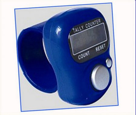 Tally Counter Mini 5-Digit LCD Electronic Digital Golf Finger Hand Held Tally Counter