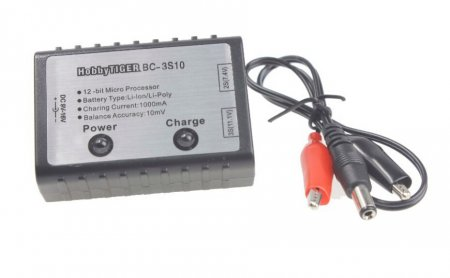 2S 3S Cell RC Battery Balance Charger For 7.4V 11.1V AKKU Helicopter Quadcopter