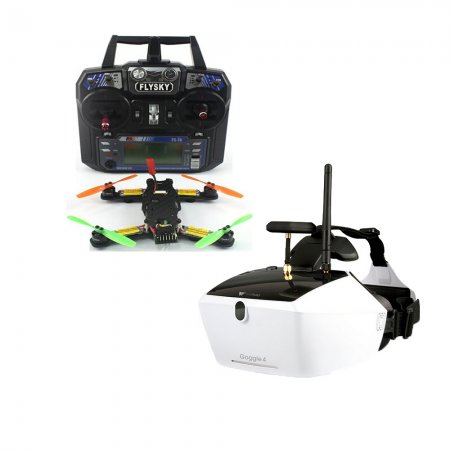 5.8G 40CH FPV 2.4G 6CH RC Mini Racer Quadcopter Drone Tarot 130 RTF Full Set TL130H1 Walkera Goggle 4 520TVL Camera