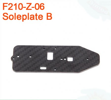 Walkera F210 RC Helicopter Quadcopter spare parts F210-Z-06 Bottom Plate B Soleplate B