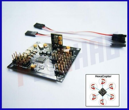 K KMulticopter V2.3 Circuit Blackboard v5.5 For RC 4 Axis KK Multicopter Quad Copter Aircraft UFO