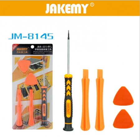 Jakemy JM-8145 5 in 1 Simple Removal and Installation Tools For Iphone