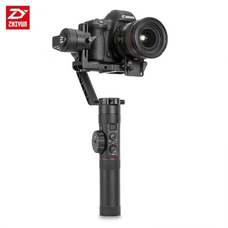 Newest Zhiyun Crane 2 Stabilizer Handheld Gimbal 18hours Support Max 3.2kg DSLR Mirrorless Cameras with Real Time Follow Focus