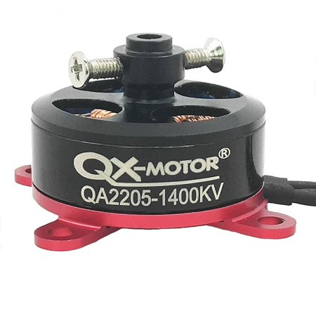 QX-MOTOR QA2205 1400KV 1800KV External Rotor Brushless Motor 2-3S Lipo RC Motor for F3P RC Fixed-Wing 3D Airplane Accessories
