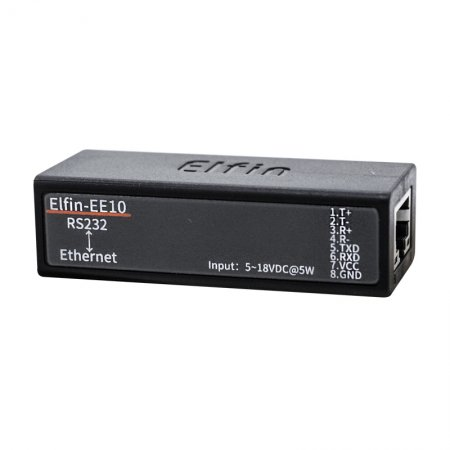 HF Elfin-EE10 Serial Server Serial Port RS232 to Ethernet Serial Port ModbusTCP/HTTP Support TCP/IP Telnet Modbus TCP Protocol