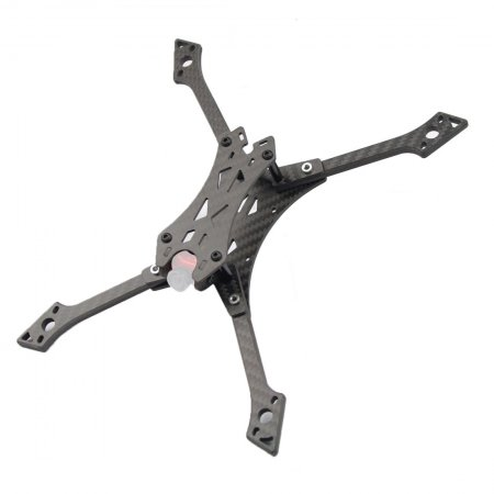 JMT  220mm Wheelbase Frame Kit 5 Inch Carbon Fiber Rack for DIY FPV Racing Drone Quadcopter