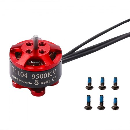 IFlight Tachyon T1104 9500KV 2S Brushless Motor Racing Motor for Indoor FPV Racing Drone DIY Quadcopter