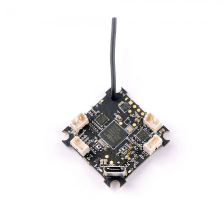 Happymodel Crazybee F4 PRO Flight Controller 1-2S Compatible Flysky/Frsky/DSMX Receiver for 2S Brushless Tiny Whoop For Mobula7 Mobula 7 Upgrade Eachine TRASHCAN TC75