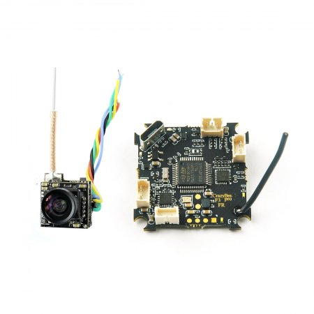 Crazybee F3 Pro Flight Controller with 5.8G 700TVL 40CH 25mW FPV Camera 5A 1-2S Compatible Frsky Receiver for 2S Brushless tiny whoop Mobula7 Mobula 7 FPV Racing Drone