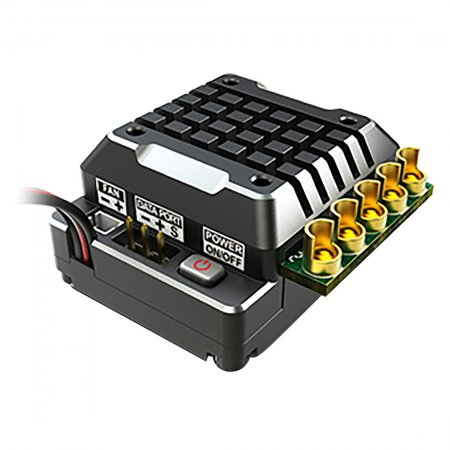 SKYRC TORO TS120 Upgrade Version RC Sensored Brushless 120A ESC Speed Controller with 6V3A BEC for 1/10 1:10 Car Truck