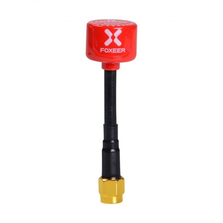 2PCS Foxeer Lollipop 2 2.5DBi 5.8G Super Mini Antenna TX RX RHCP FPV SMA RPSMA UFL Straight/Angle MMCX for FPV Racing Drone Quadcopter Multi-rotor Aircraft
