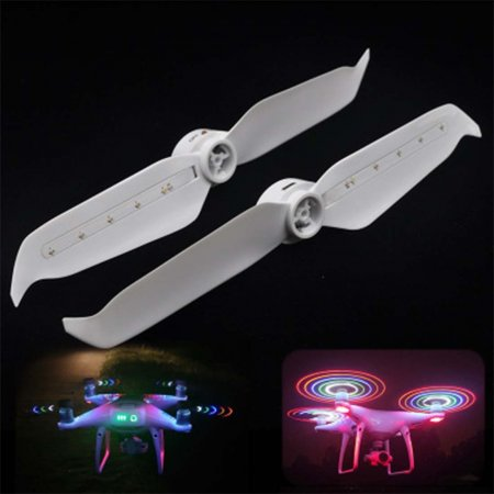 STARTRC 9455S Low-Noise Propellers LED Light Flash Propeller Blades For DJI Phantom 4 Pro V2.0/Advanced Drone