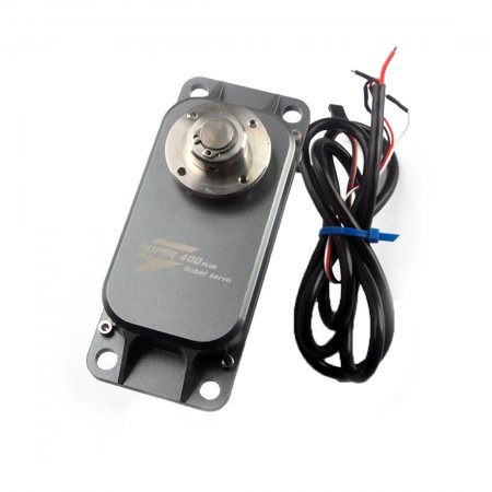 JMT 400kg High Torque Metal Servo Steering Gear Suitable for 12v-24v Large Robot Arm DIY Models