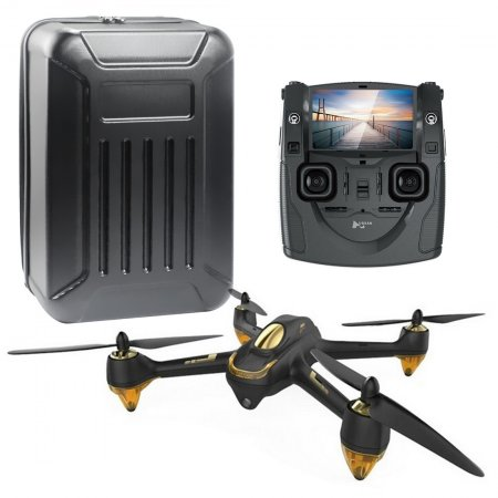Hubsan Remote quadcopter + H501S backpack No need to dismantle black