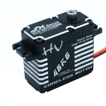 JX Servo CLS-HV7346MG 46KG High Torque Metal Tooth Digital High Pressure Coreless Standard Servo