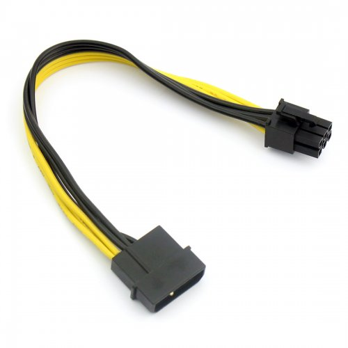 US$ 0 59 - Large 4P to 6P Power Cable single D to 6P