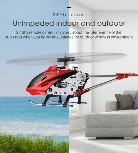 US$ 14 7 - SYMA S107H 3 5CH RC Helicopter MINI Plane With