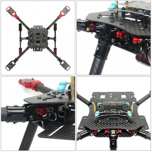 US$ 374 97 - DIY GPS Drone 2 4Ghz AT9S X4 560mm Umbrella