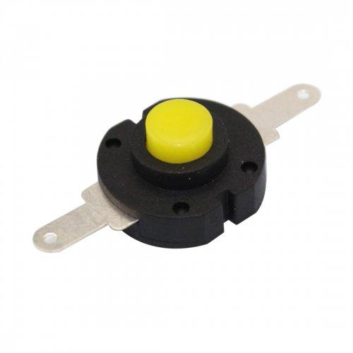 10x Flashlight Switch Self-locking Round Push Button Switch