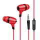 Ipsdi EP1301 Earphone 3.5mm In-ear headset earphone Best Sound With Microphone for Mobile phones Computer