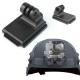 OEM Helmet Aluminum Fixed Mount for Camera Gopro Hero3 Hero2 HD and NVG Mount Base