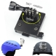 OEM 360 Degree Rotate CNC Aluminum Helmet Fixed Mount Base Adapter for GOPRO3+/4/5/SJ/Xiaomi Yi/GitUp Camera