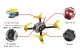 100/130 PNP FPV Racer Drone Mini fly egg Indoor Quadcopter PIKO BLX Flight Control with DSM2/XM/FS-RX2A/FM800 Receiver