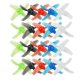 10Pairs LDARC 48mm 4-Blade Propeller 1.5mm Hole Props for TINY GT8 87.6mm FPV Racing Drone Quadcopter