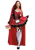 HH243 red redding hood costumes